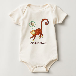 MONKEY BRAIN BABY BODYSUIT