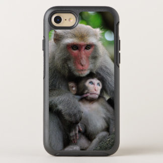 Monkey Breast Feeding Her Baby OtterBox Symmetry iPhone 7 Case
