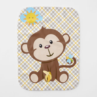 Monkey Burp Cloth