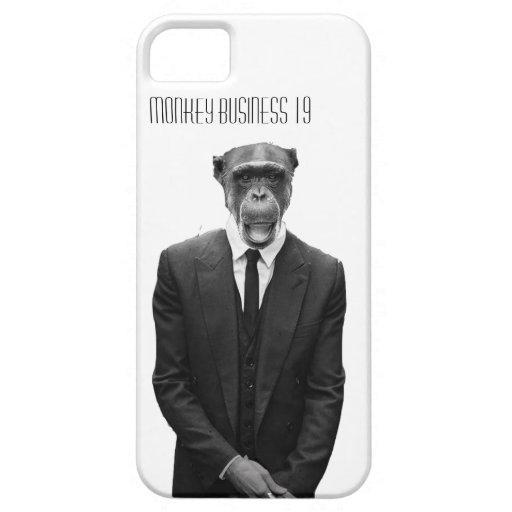 Monkey Business 19 cover iPhone 5 Case