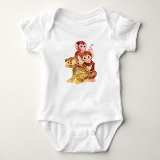 """Monkey Business"" Baby Bodysuit"
