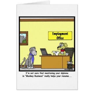 Monkey Business Card