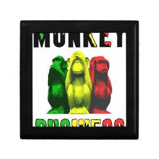 Monkey business gift box