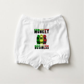 Monkey business nappy cover