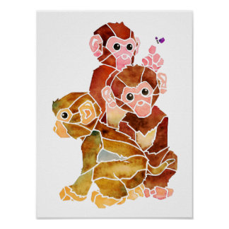 """""""Monkey Business"""" Poster"""
