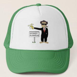 Monkey Business Trucker Hat