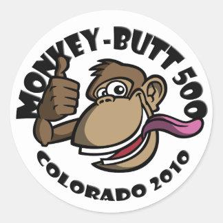 Monkey Butt 500 - Colorado 2010 - Sticker - Black
