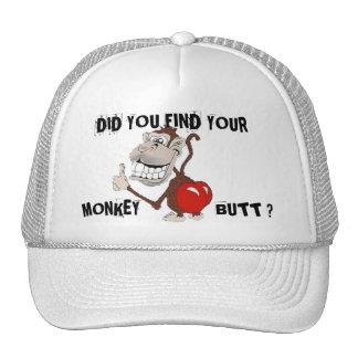 MONKEY BUTT TRUCKER HATS
