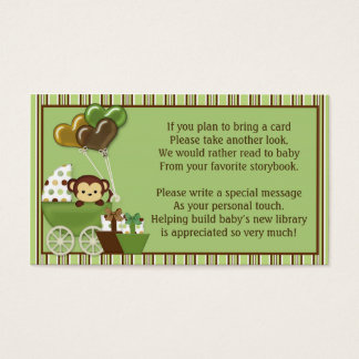 Monkey Carriage v1 Book Requests Instead of a Card