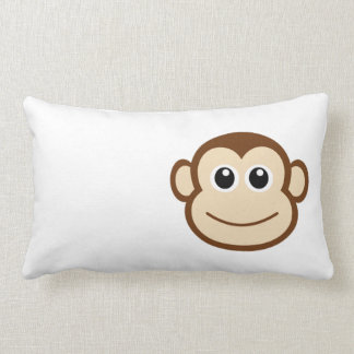 Monkey Cartoon Lumbar Cushion