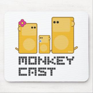 Monkey Cast Mouse Pad