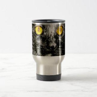 Monkey Cat Travel Mug