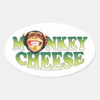 Monkey Cheese Stickers