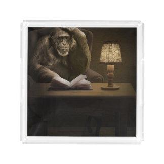 Monkey Chimpanzee Ape Acrylic Tray