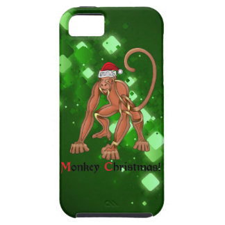 Monkey Christmas iPhone 5 Cover