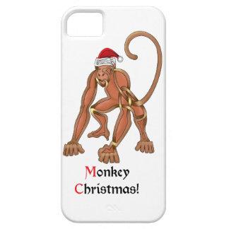 Monkey Christmas iPhone 5 Covers