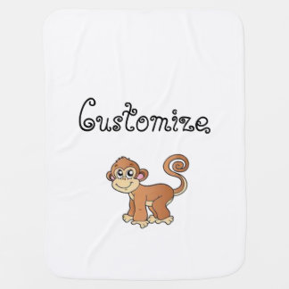 Monkey Collection Baby Blanket