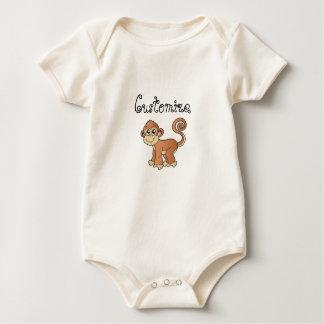 Monkey Collection Baby Bodysuit