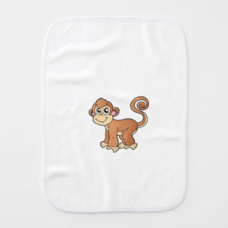 Monkey Collection Burp Cloth