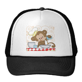 Monkey Cook Cap