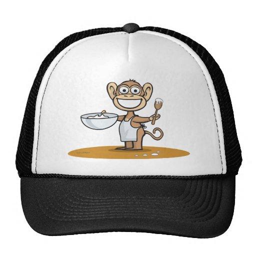 Monkey Cook Mesh Hat