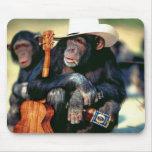 Monkey_Cowboy Mouse Mats