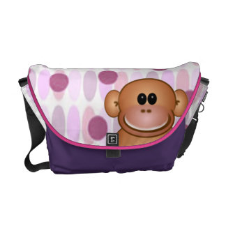 Monkey Diaper Bag Messenger Bag