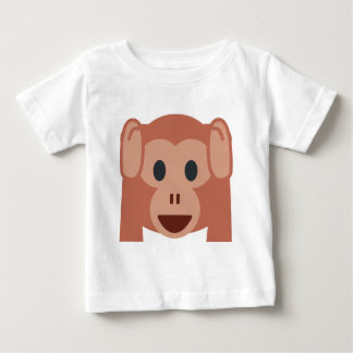 Monkey emoji baby T-Shirt