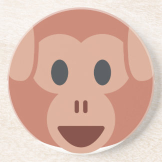 Monkey emoji coasters