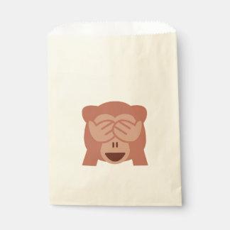 Monkey Emoji Favour Bag