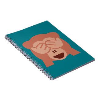 Monkey Emoji Notebook