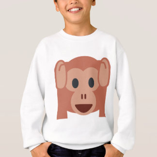 Monkey emoji sweatshirt