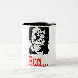 Monkey Er! Two-Tone Coffee Mug