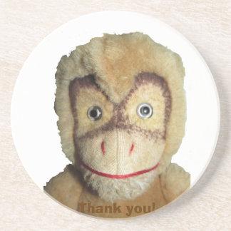 Monkey face coaster
