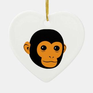 Monkey Face Christmas Ornaments