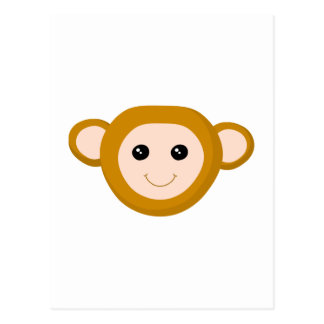 Monkey Face Post Cards