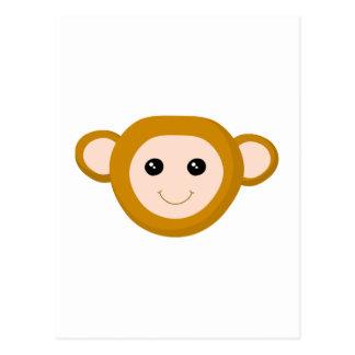Monkey Face Postcard