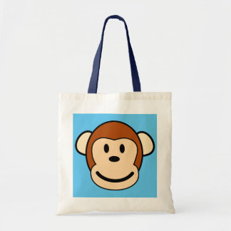 Monkey Face Shopping Tote
