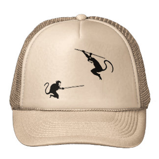 Monkey Fight Trucker Hat