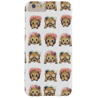 Monkey Flower Emoji marries iPhone 6 Barely There iPhone 6 Plus Case
