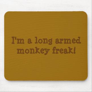 Monkey freak mousepad