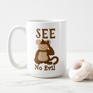 Monkey Funny See No Evil Coffee Mug