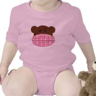 Monkey Girl - baby Baby Bodysuit