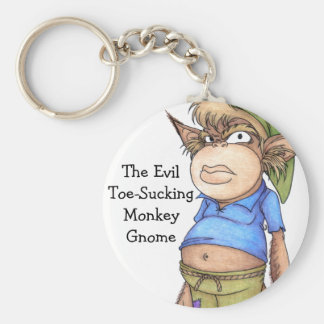 Monkey Gnome Key Ring