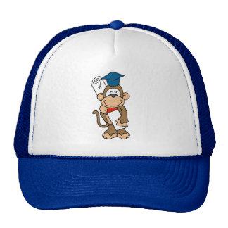 Monkey Graduate T-shirts and Gifts Hats