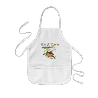 Monkey Hang in There Kids' Apron