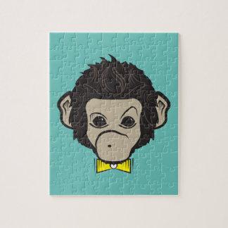 monkey identica jigsaw puzzle