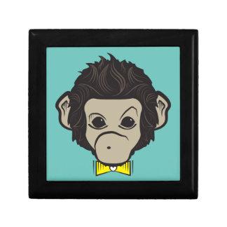 monkey identica small square gift box