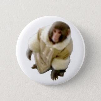 monkey ikea 6 cm round badge