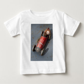 Monkey in a toy car baby T-Shirt